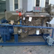 MARINE ENGINE YUCHAI 740HP/1000RPM